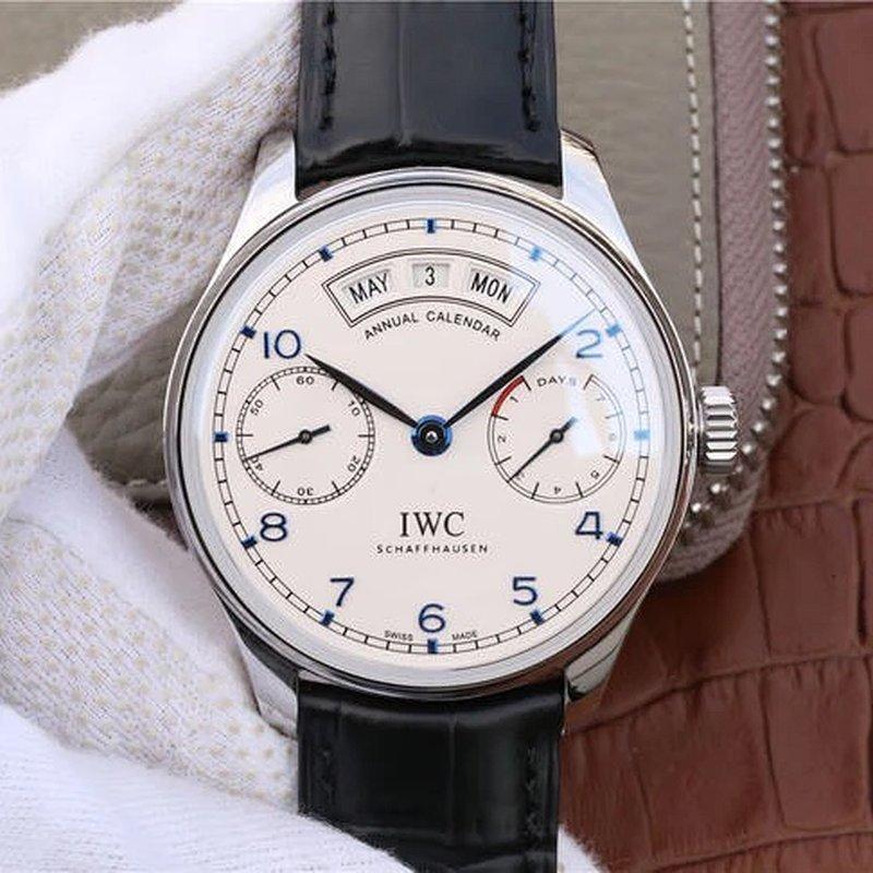 YL厂新品万国葡萄牙系列IW503502年历腕表副本 万国葡萄牙计时复刻评测